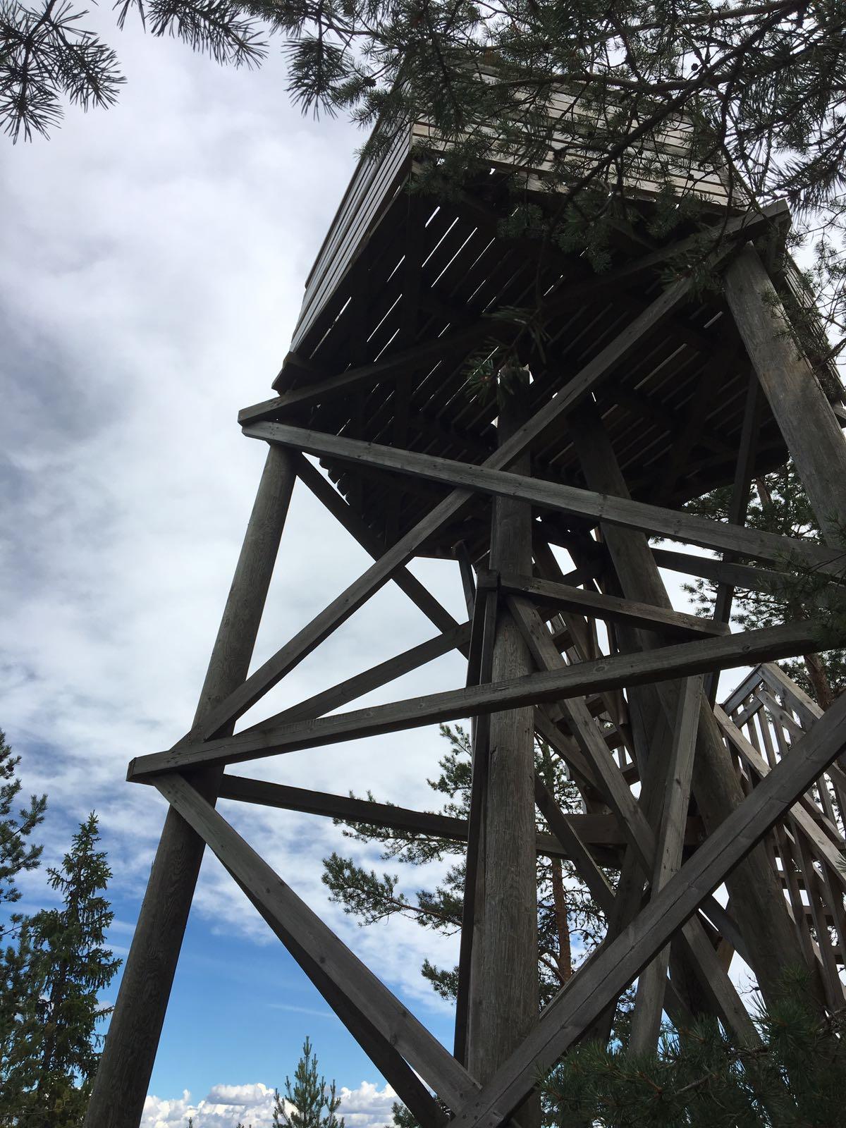 Oravivuoren näkötorni